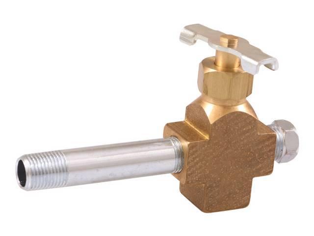 PETCOCK, Fuel Tank / Fuel Line Connector, Brass,