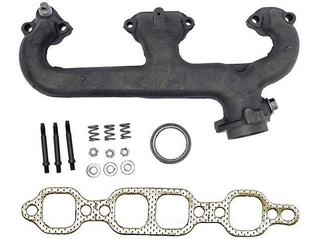 MANIFOLD, EXHAUST, LH, INCL GASKETS AND HARDWARE