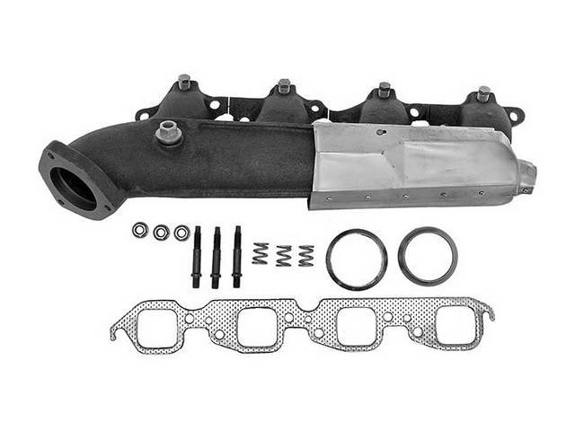 MANIFOLD, EXHAUST, RH, INCL GASKETS AND HARDWARE