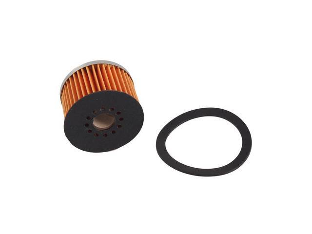 ELEMENT, Glass Fuel Filter, incl filter gasket, replaces
