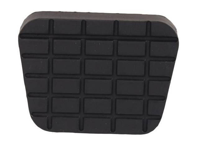 PAD, Brake Pedal / Clutch Pedal, standard, black