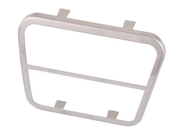 TRIM, Brake Pedal Pad / Clutch Pedal Pad,