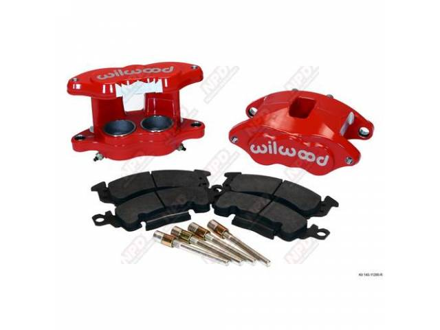 CALIPER KIT, Front Disc Upgrade, D52 by Wilwood,