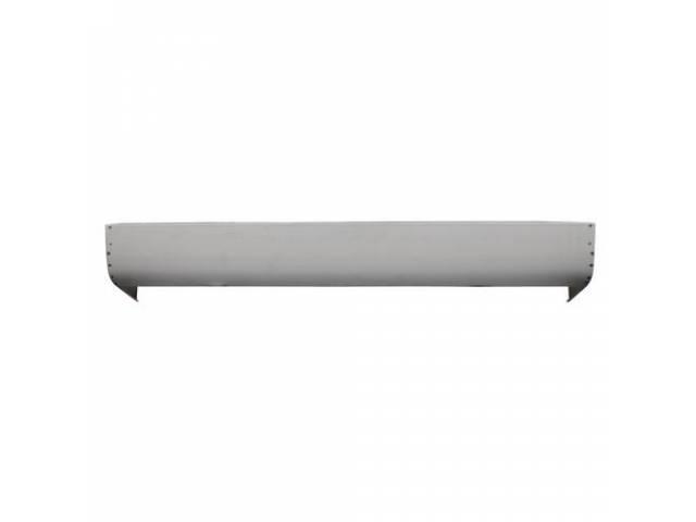 ROLL PAN, Rear, 18 gauge steel, Smooth w/o
