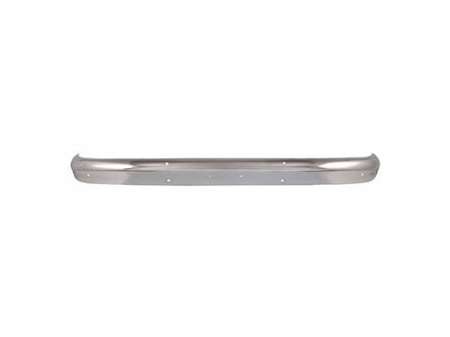 Bumper Front Chrome Finish Better Tooling Crisper Edges