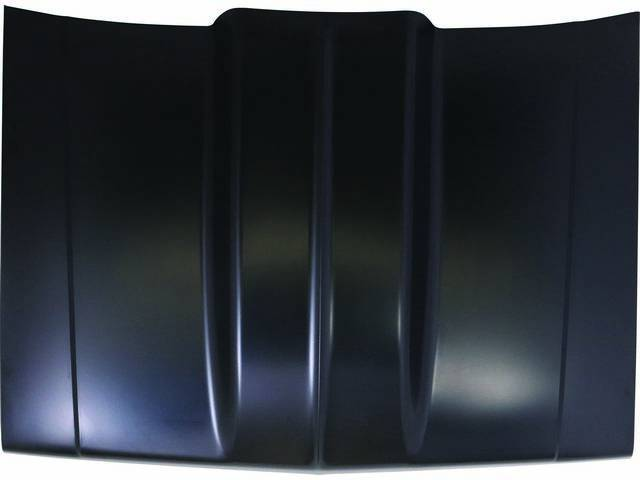HOOD, Cowl Induction, 4 Inch cowl, steel, EDP-coated