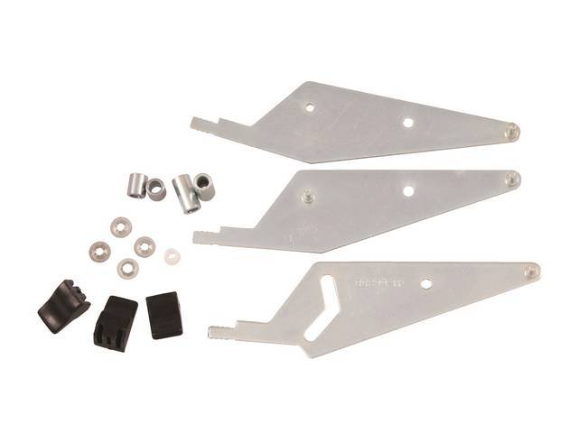LEVER AND KNOB KIT, Heater Control, Incl 3