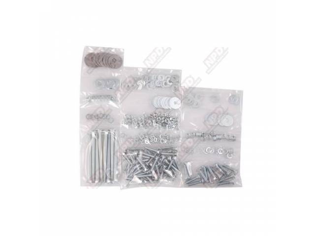 Bolt Kit Bed Zinc Kits Include All Hardware