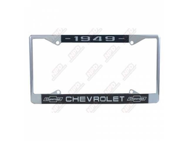 Frame License Plate Chrome Frame W/ 1949 At