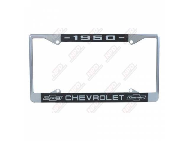 Frame License Plate Chrome Frame W/ 1950 At