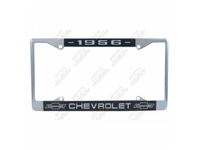 Frame License Plate Chrome Frame W/ 1956 At