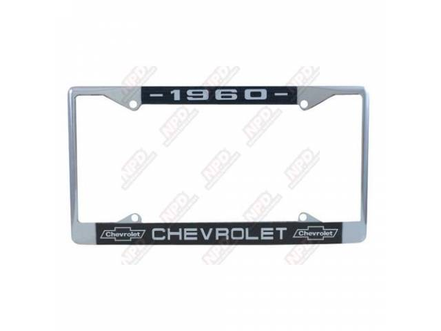 Frame License Plate Chrome Frame W/ 1960 At