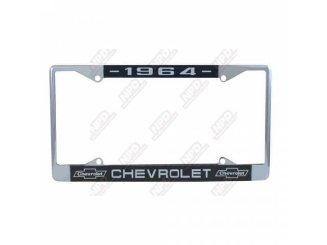Frame License Plate Chrome Frame W/ 1964 At