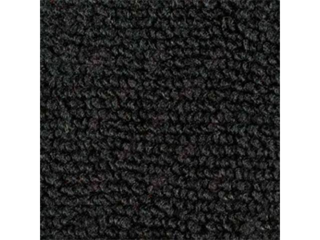 Carpet Loop Reg Cab Black Full Floor High