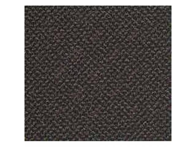 Carpet Daytona Reg Cab Black Full Floor Low