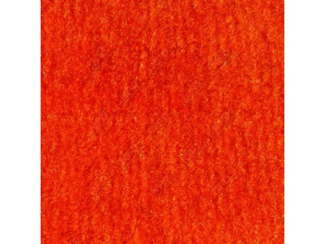 Carpet Cut Pile Mandrin Orange Crew Cab 2wd
