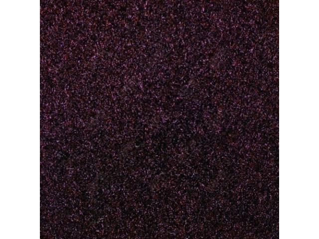 Carpet Cut Pile Oxblood Crew Cab 2wd 4sm/T