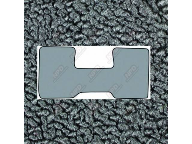 Floor Mats Carpet Loop Style 1 Piece Low