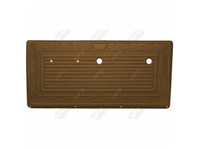 Panel Vinyl Set Inside Door Dark Saddle Walrus