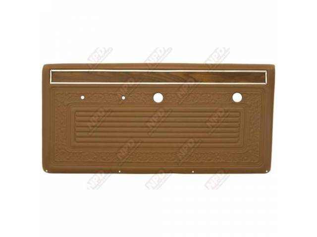 Panel Vinyl Set Inside Door Sandalwood Walrus Grain