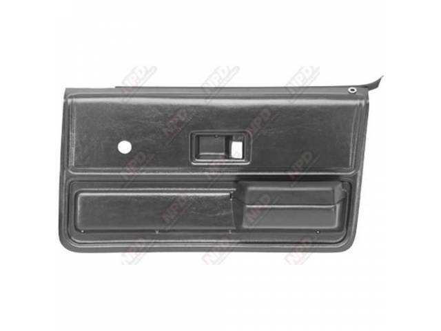 Panel Set Replacement Style Abs Plastic Presidio Gray