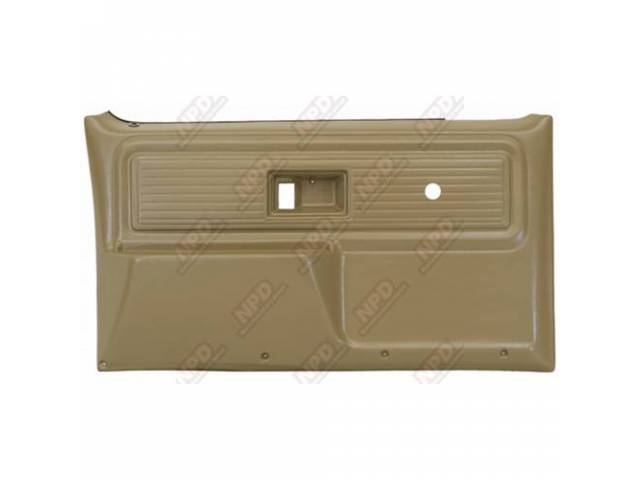 Panel Set Replacement Style Saddle Tan Front Doors