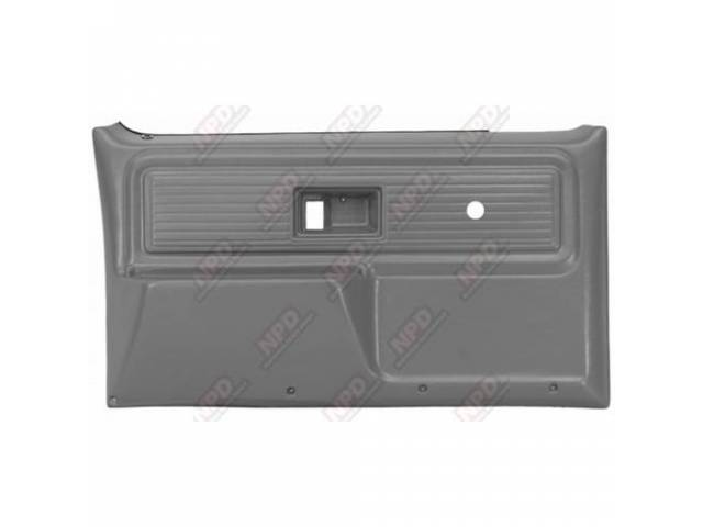 Panel Set Replacement Style Presidio Gray Front Doors