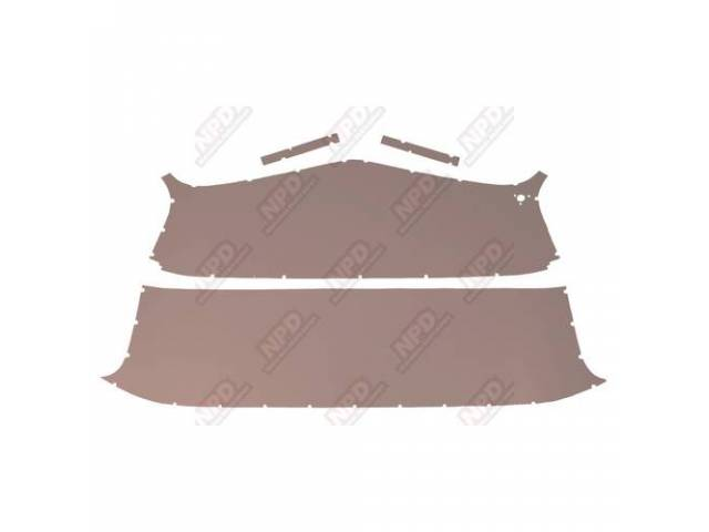 Headliner Set Early Model Pearl Beige