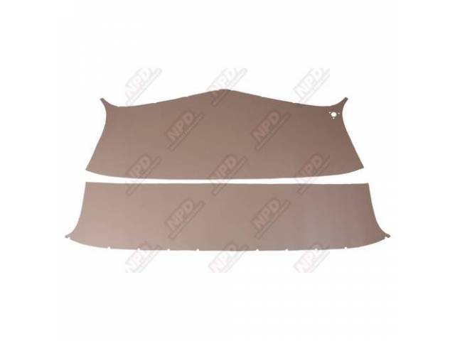 Headliner Set Pearl Beige