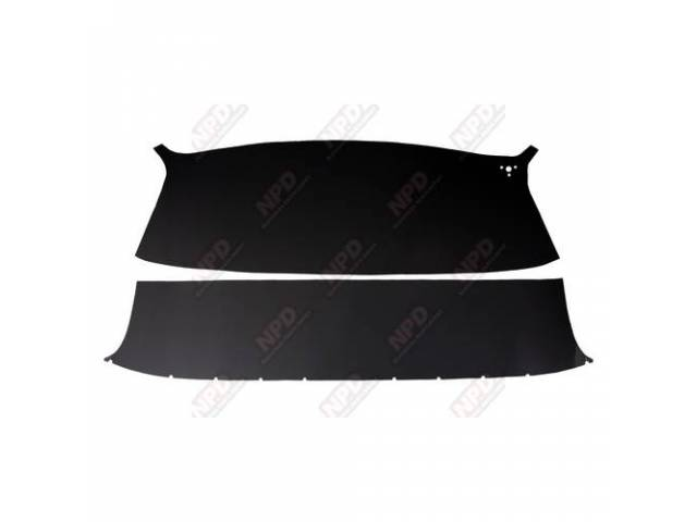 HEADLINER, SET, BLACK