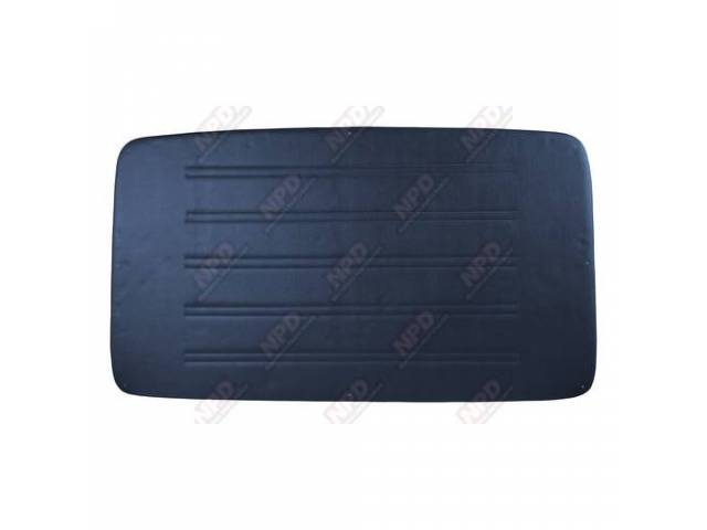 Headliner Pressboard Navy Blue Madrid Grain Vinyl W/