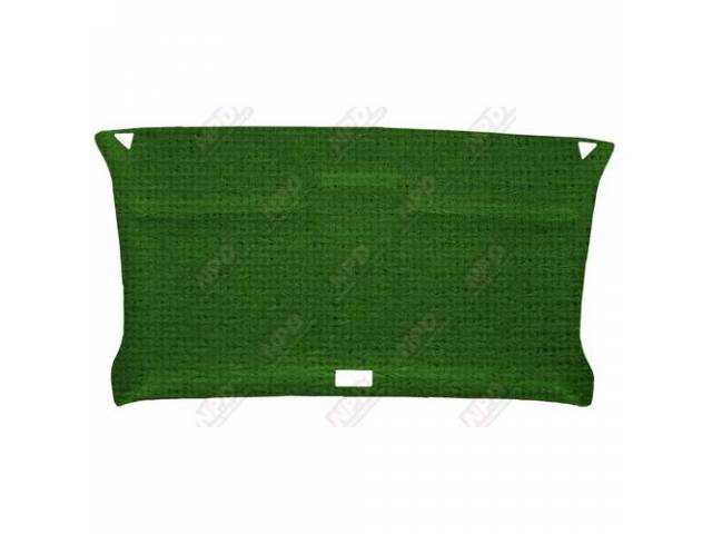HEADLINER, RETRO STYLE, REAR, ABS PLASTIC, COVERED IN