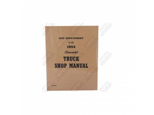 BOOK, CHEVY TRUCK SERVICE MANUAL, REPRO