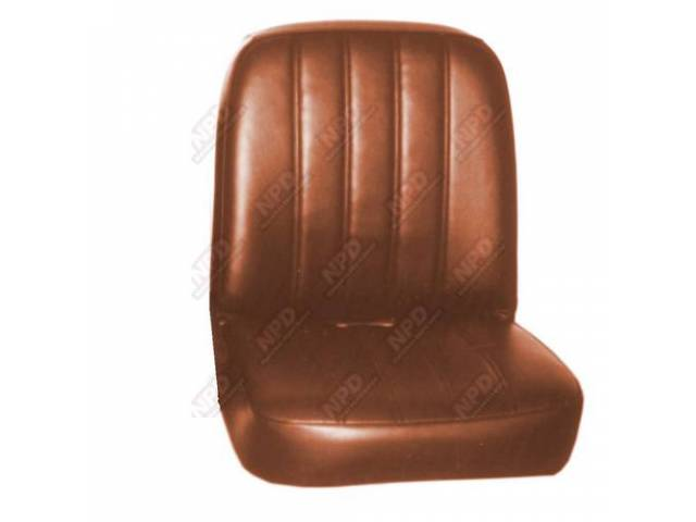 Upholstery Set Buckets Light Saddle Pui Madrid Grain