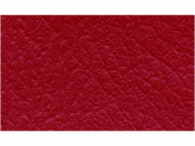 Upholstery Bench Madrid Grain Vinyl Smooth Red