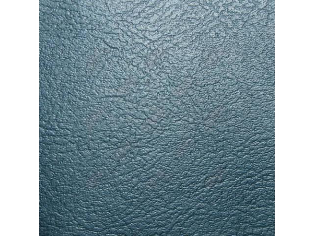 Upholstery Bench Madrid Grain Vinyl Smooth Med Blue