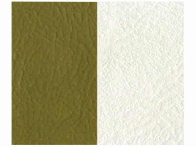 Upholstery Bench Madrid Grain Vinyl Two Tone Palomino