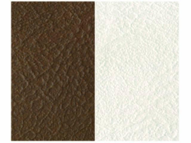 Upholstery Bench Madrid Grain Vinyl Two Tone Dark