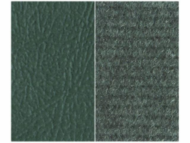 Upholstery Bench Charcoal Madrid Grain Vinyl W/ Light