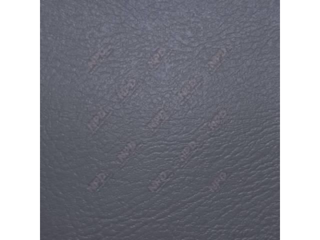 Upholstery Bench Standard Cab Charcoal Madrid Grain Vinyl