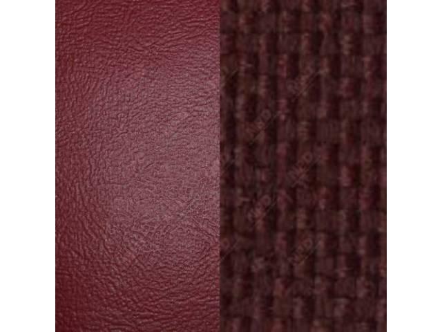 Upholstery Bench Standard Cab Maroon Madrid Grain Vinyl