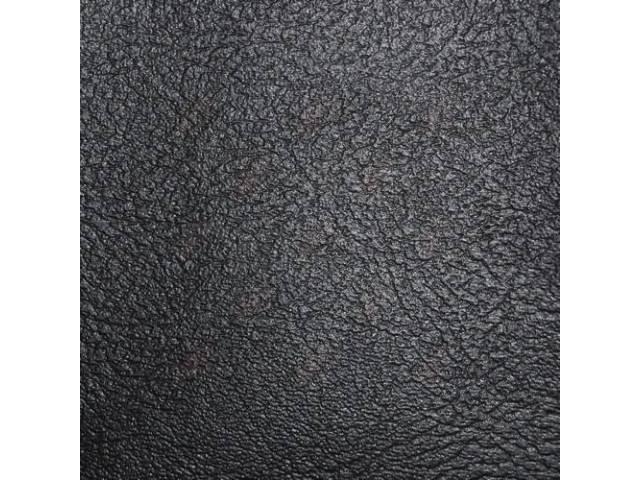 Upholstery Bench Standard Cab Black Madrid Grain Vinyl