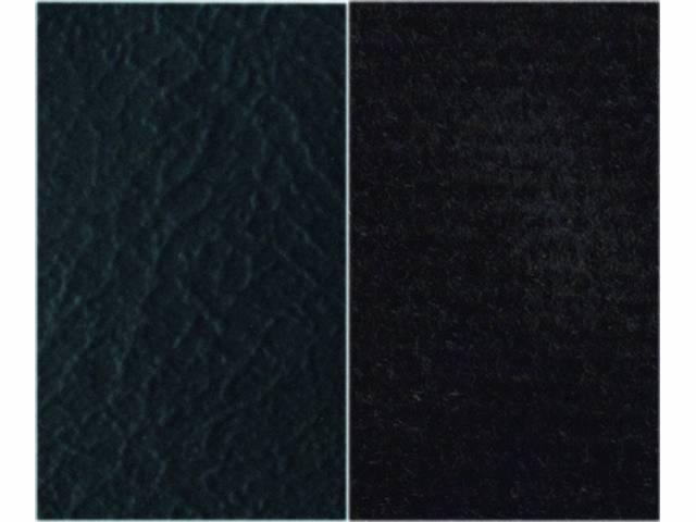 UPHOLSTERY, BENCH, STANDARD CAB, BENCH SEAT, BLACK MADRID