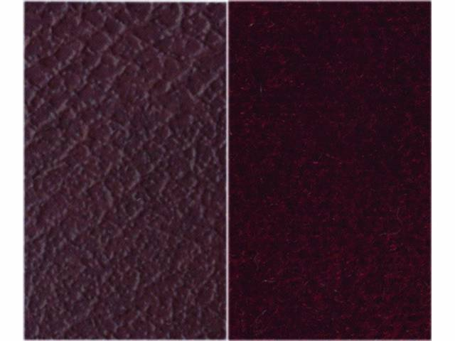Upholstery Bench Standard Cab Bench Seat Maroon Madrid