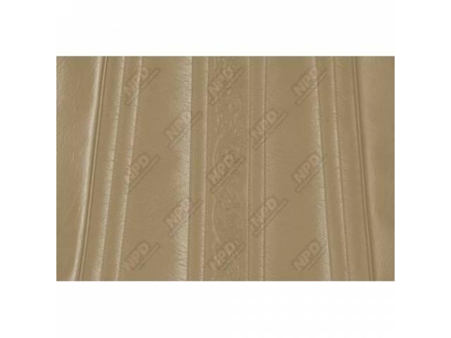 Upholstery Bench Sandalwood Walrus Grain W/ Elk Grain