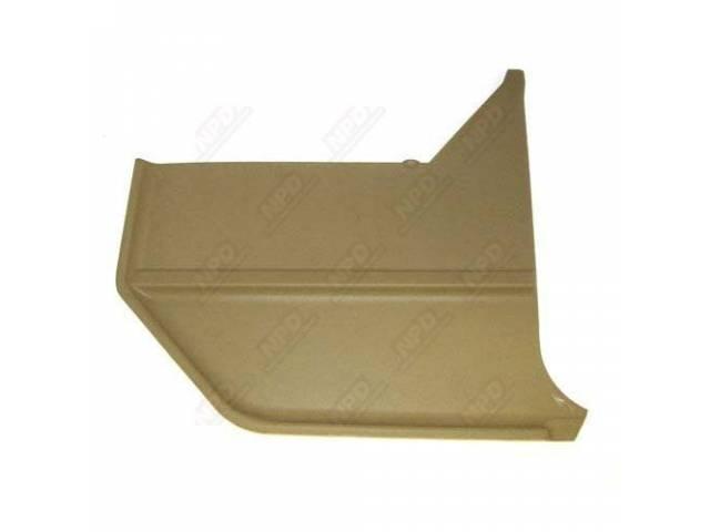 KICK PANELS NUGGET GOLD pair