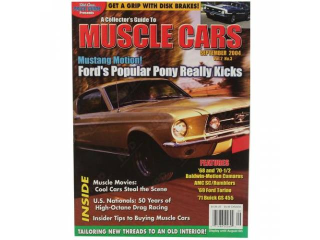BOOK COLLECTORS GUIDE TO MUSCLE CARS