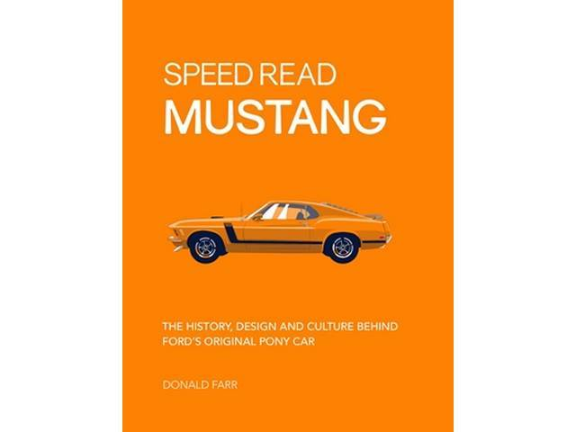 BOOK, Speed Read Mustang, by Donald Farr, The