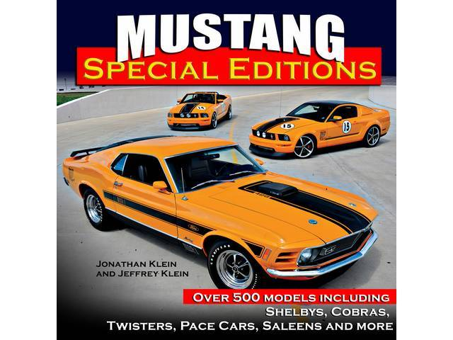 BOOK, MUSTANG SPECIAL EDITIONS