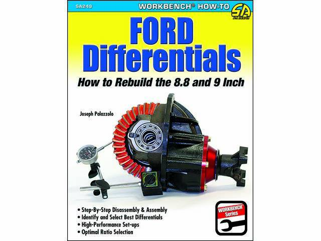 BOOK, FORD DIFFERENTIALS, HOW TO REBUILD THE 8.8 & 9